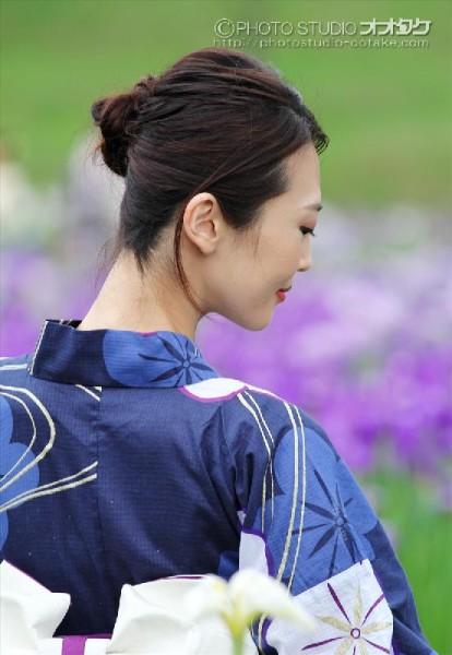 花しょうぶモデル撮影会 オオタケカメラ