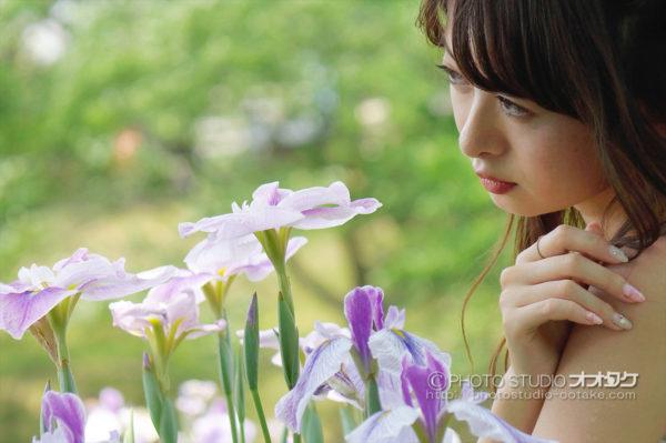 花しょうぶ祭り,モデル撮影会