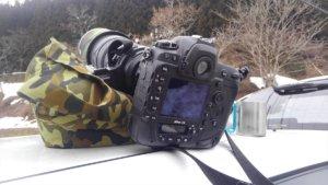 オオタケカメラ,レンズピロー,野鳥撮影